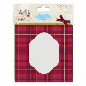 Cartes et enveloppes Christmas 15,2x15,2 – 12p – Me To You