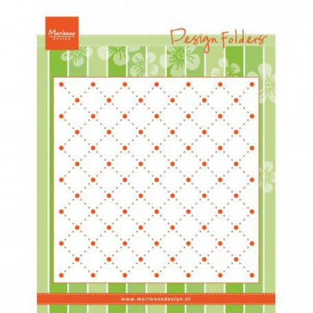 Classeur de gaufrage Pearls - Design Folder Pearls - Marianne Design