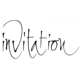 Tampon bois Invitation – Artemio