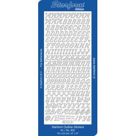Autocollant Alphabet - Starform 826