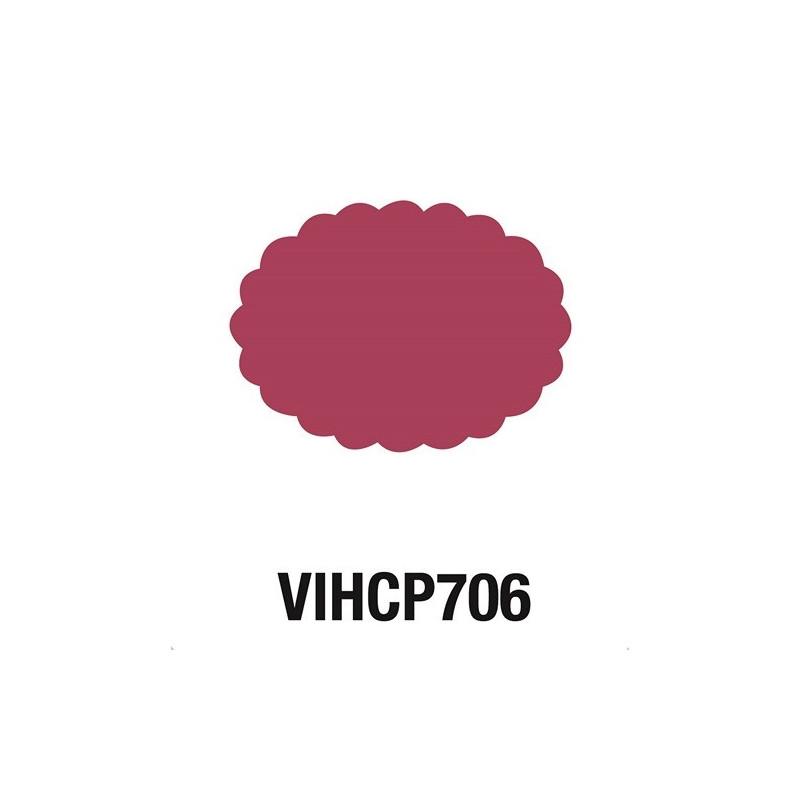 Perforatrice Ovale festonné 7,6 cm - Jumbo- Artémio