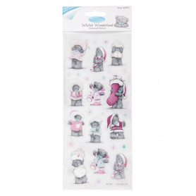 Autocollants Mini Christmas - Winter Wonderland - Coloured Stickers - Me To You