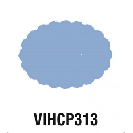 Perforatrice Ovale festonné 5 cm - Géante - Artémio