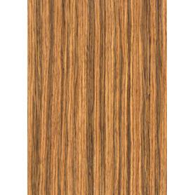 Feuille adhésive en bois Chêne foncé à rainures A4 (1f) - Artemio