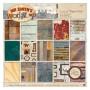 Set de papier 30x30cm Mr Smith's Workshop 36f - Docrafts Papermania