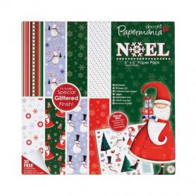 Set de papier 15x15 Noël 20f - Docrafts Papermania