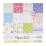 Set de papier 15x15 Happy Birthday to You 25f - Docrafts Papermania