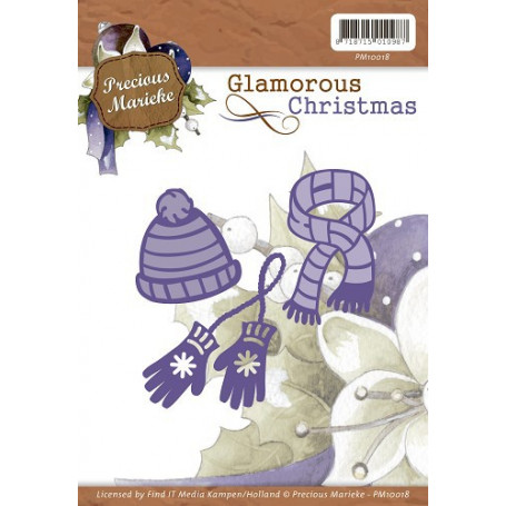 Dies Winter Wear 3pc - Glamorous Christmas - Precious Marieke