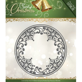 Die Snowflake Circle - Spirit of Christmas - Precious Marieke