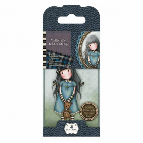 Collectable Rubber Stamp - Santoro - No. 4 Forget Me Not - Gorjuss