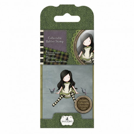 Collectable Rubber Stamp - Santoro - No. 12 On Top Of The World - Gorjuss