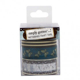 Patterned Craft Tape 3 pc - Gorjuss