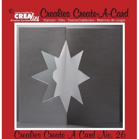 Die Create A Card no 26 Etoile - Crealies