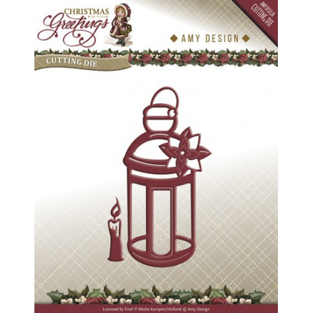 Dies Lantern - Christmas Greetings - Amy Design