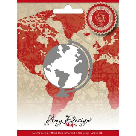 Dies Globe - Amy Design Maps