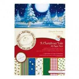 Set de papier A5 A Christmas Tale (24f) – Forever Friends - Docrafts Papermania