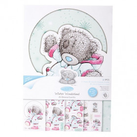 Kit Carterie A5 Me to You - Winter Fun - Winter Wonderland Glittered Card Kit