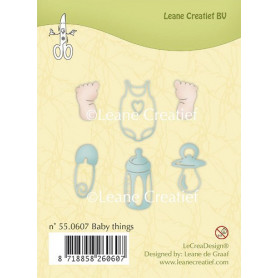 Tampons Baby Things - Leane Creatief Clear stamps