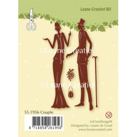 Tampons Couple - Leane Creatief Clear stamps