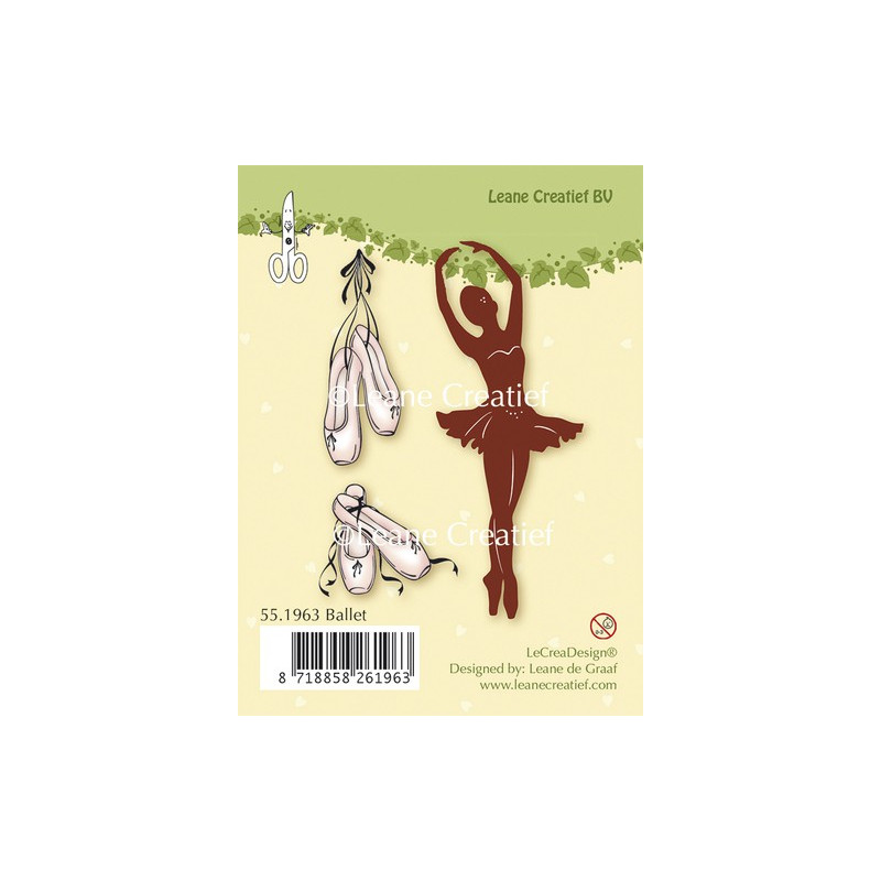 Tampons Ballet - Leane Creatief Clear stamps