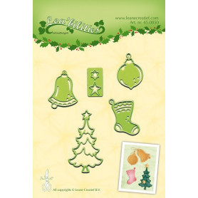 Dies Christmas ornaments - Lea'bilities - Leane Creatief
