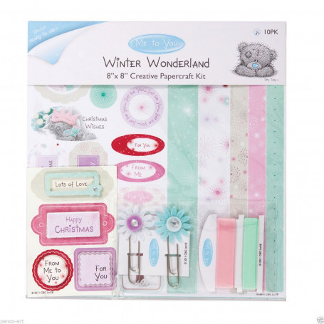Creative Papercraft Kit 20x20 Winter Wonderland - Me To You