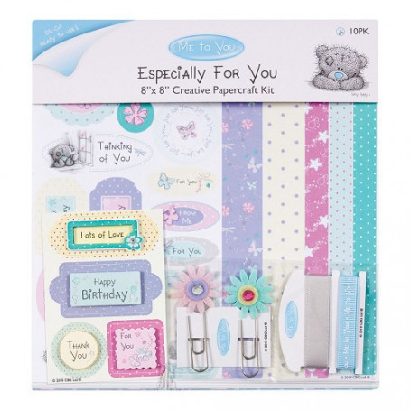 Creative Papercraft Kit 20x20 Especially for You - Me To You