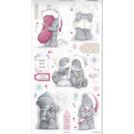 Autocollants Winter Wonderland (2pc) - Cardstock Stickers Me To You