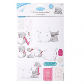 Kinetic Card Kit Winter Wonderland - Me To You