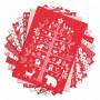 Set de papier A4 Noël Nordique 48f - Color Factory Toga