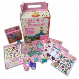Coffret Ma Box Princesses - 100 accessoires - Téo & Zina - Toga