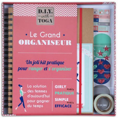 Kit papeterie Le Grand Organiseur - Toga