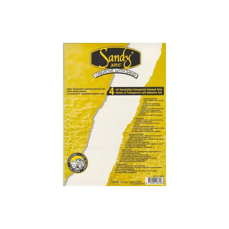Papier autocollant double face A4 - 4f - Sandy Art – JEJE Produkt