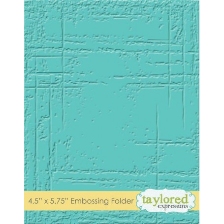 Classeur de gaufrage Weathered - Taylored Expressions Embossing Folder
