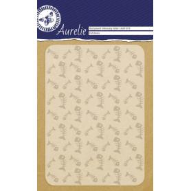 Classeur de gaufrage A6 Arêtes de poisson – Aurelie – Embossing folder Fish Bones
