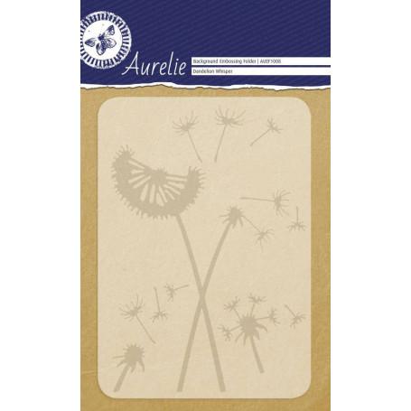 Classeur de gaufrage A6 Pissenlit – Aurelie – Embossing folder Dandelion Whisper