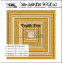 Dies Crea-Nest-Lies 50 XXL Double Dots Squares - Crealies