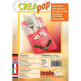 Etui à couvert Creapop à décorer – Décoration de table - Hobbyfun