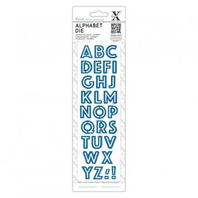 Die Alphabet Outline - Xcut