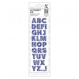 Die Alphabet Bevelled - Xcut