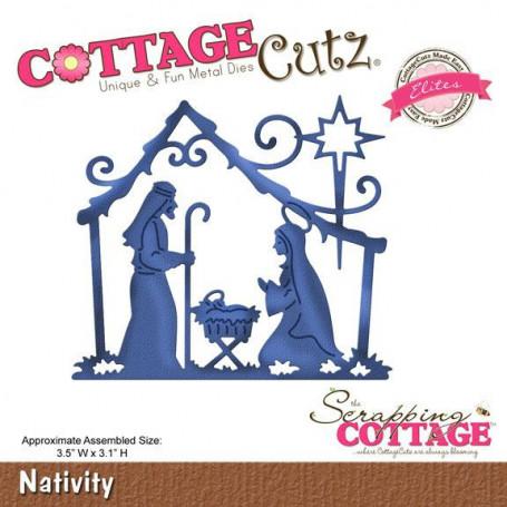 Die Nativité - CottageCutz - Scrapping Cottage Die Nativity