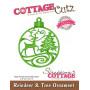 Die Reindeer & Tree Ornament - CottageCutz - Scrapping Cottage