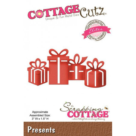 Die Presents - CottageCutz - Scrapping Cottage
