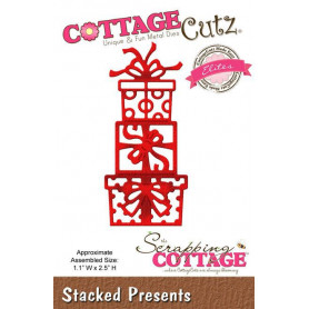 Die Stacked Presents - CottageCutz - Scrapping Cottage