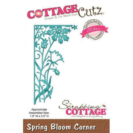Die Spring Bloom Corner - CottageCutz - Scrapping Cottage