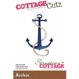 Die Ancre - CottageCutz - Scrapping Cottage Die Anchor