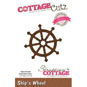 Die Ship's Wheel - CottageCutz - Scrapping Cottage