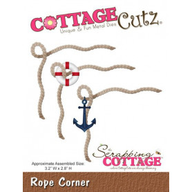 Die Corde - CottageCutz - Scrapping Cottage - Die Rope Corner
