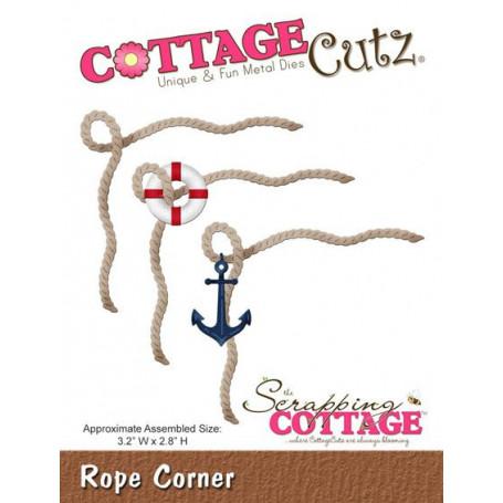 Die Corde - CottageCutz - Scrapping Cottage - Die Rope Corner