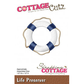 Die Bouée de sauvetage - CottageCutz - Scrapping Cottage - Die Life Preserver